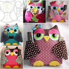 Pillow Sewing Patterns Extraordinary Fabulous Fabric Owl Pillow Free Template And Guide