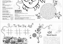 Free Printable Kids Menu Template Then Kids Menu Kid Menu