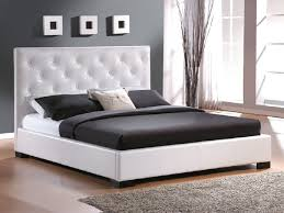 Contemporary King Size Bed Design