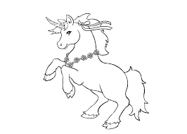 Printable Coloring Pictures Of Unicorns Free Colouring Sheets Page
