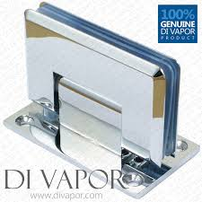 di vapor r 90 degree wall mounted shower door glass hinge