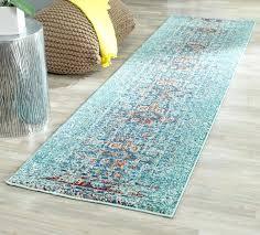 teal runner rug chevron green teal runner rug