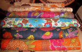 New kantha cotton quilts and throws &  Adamdwight.com
