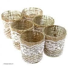 votive candle holders bulk beautiful lace burlap wrapped glass votive candle holders sk
