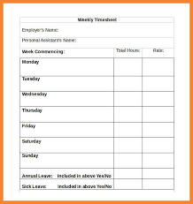 Sample Time Sheet Word - Tier.brianhenry.co