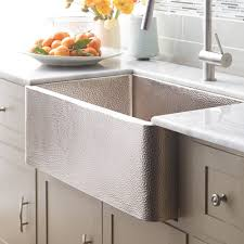 farmhouse 33 kitchen sink in brushed nickel cpk573
