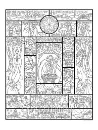 These nativity coloring sheets are ideal for kids of all ages. Story Of The Nativity Coloring Page In Three Sizes 8 5x11 Etsy