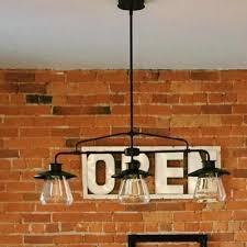 urn shade restaurant island light metal