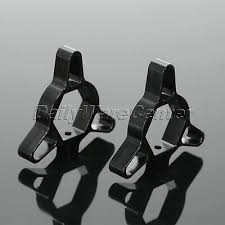Pair <b>Motorcycle</b> CNC Black <b>Fork</b> Preload Adjusters Kit <b>19mm</b> for ...