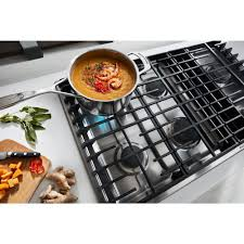 kitchenaid 36 gas downdraft cooktop