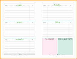 weekly student planners 7 weekly school planner template for students expense report