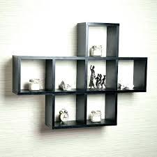 wall shelf unit shelving black design lack ikea australia
