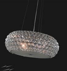 crystal pendant lighting. Illuminati Star Chrome With Crystal Pendant Light 50cm Diameter Using 6 X 33W G9 Lamps Lighting L