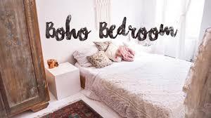 Boho Bedroom Tour Unser Neues Schlafzimmer Pinterest Inspired