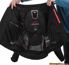 snap on system to integrate the level 2 ce certified alpinestars nucleon back protector