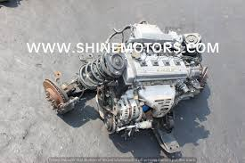 USED ENGINE TOYOTA 7AFE 16V EFI | Shine Motors