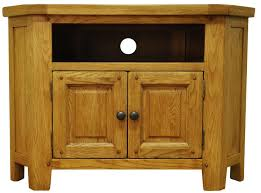 oak tv cabinet.  Oak Stanton Rustic Oak Corner TV Unit In Tv Cabinet L