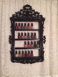 diy nail polish holder rack