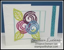 fold card swirly scribbles z fold card stamp with shar