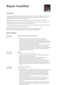 Marketing Analyst Resume Samples - Visualcv Resume Samples Database