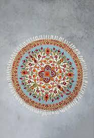 4 foot round rugs 5 ft turquoise area rug circular fl diameter