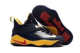 lebron nike basketball shoes. nike lebron soldier 11 blue yellow mens lebron james basketball shoes sd3