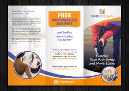 Brochure Design Samples Yoga Brochure Design Samples 1000s Of Yoga Brochure Design