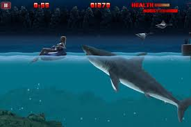 hungry shark night games shark shark
