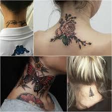 тату на шее татуировки на шее у женщин и мужчин Tattoo Ideasru