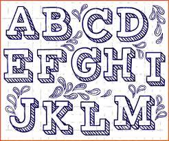 Graffiti Font Free Fancy Bubble Letters Alphabet Graffiti Font To Draw Letter