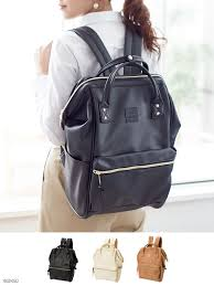 bag anello anello a4 size storage ok commuter school large faux leather cap and backpack