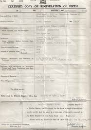 Blank Birth Certificate Images Interesting Kenyan Birth Certificate Proven Fake No Doubt Obama Conspiracy
