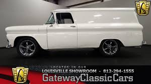 Truck 1963 chevy panel truck for sale : 1963 Chevrolet Panel Truck - Louisville Showroom - Stock #1115 ...
