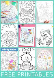 Easter Coloring Pages Free Printable Sheets Fre Telematik Institutorg
