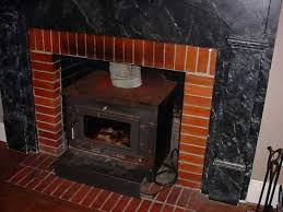 wood burning fireplace insert with blower no
