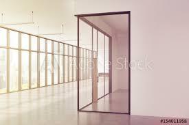 office corridor door glass. Corner Of An Office Corridor, Panoramic, Toned Corridor Door Glass T