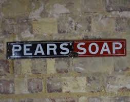 image is loading vintage enamel pears soap sign original wall art  on vintage enamel wall art with vintage enamel pears soap sign original wall art decorative antique