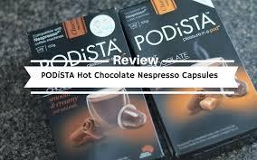 Trader joe's nespresso pods.very good quality! Podista Hot Chocolate Nespresso Capsules Review Coffee Lounge