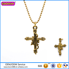 china factory whole vintage gold jewelry cross necklace china necklace cross necklace