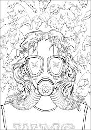 Fight Club Author Chuck Palahniuk Is Releasing A Coloring Book