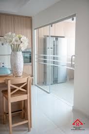 reliance home glass partition 25 tg800 frameless sliding door