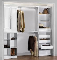 top closet tower with drawers