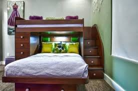twin over full bunk bed with stairs. Bedrooms: Twin Over Full Bunk Bed With Stairs That Double As Drawers