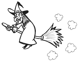 Image result for google images witch with broom