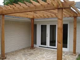 Full Size of Garage:simple Pergola Ideas Small Pergola Attached To House  Pergola And Trellis Large Size of Garage:simple Pergola Ideas Small Pergola  ...