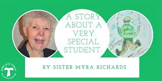 """FranciscanSisters on Twitter: """"The stories we tell each other are precious  and valued. Here, Sister Myra Richards shares a moving story about an 8th  Grade student named Tommy who blessed her life"""