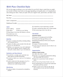 Why Is It Important To Have A Birth Plan Birth Plan Example 11 Samples In Word Pdf