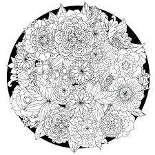 Coloring Pages Printable Mandala Printable Mandala Coloring Pages