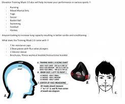 Elevation Training Mask 2 0 Training Mask 2 0