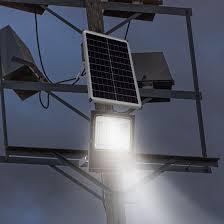 install solar led outdoor flood lights